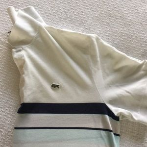 🐊 Lacoste Striped Polo